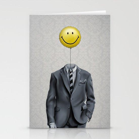 Mr. Smiley :) Stationery Card