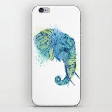 Elephant Head II iPhone & iPod Skin
