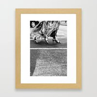 Fast As You Can Framed Art Print