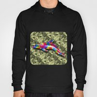 DOLPHIN COLORS 3D Hoody