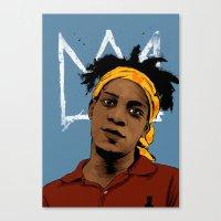 Basquiat Canvas Print