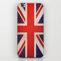 OLD UNITED KINGDOM FLAG iPhone & iPod Skin