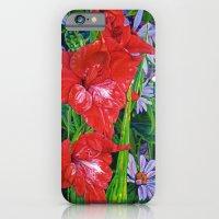 Gladiola's And Echinacea… iPhone 6 Slim Case