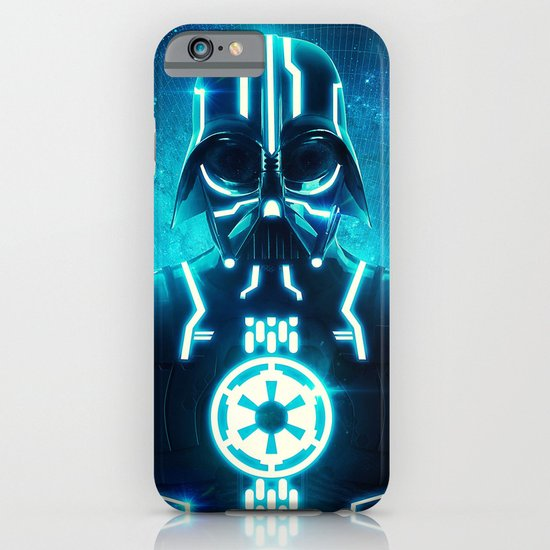 Tron Vader Blue iPhone & iPod Case