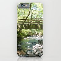 Bridal Veil Falls OR Forest Bridge iPhone 6 Slim Case