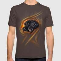 Cerberus Mens Fitted Tee Brown SMALL