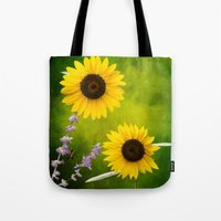 Sunflowers.  Tote Bag