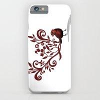 Swirly Bird iPhone 6 Slim Case