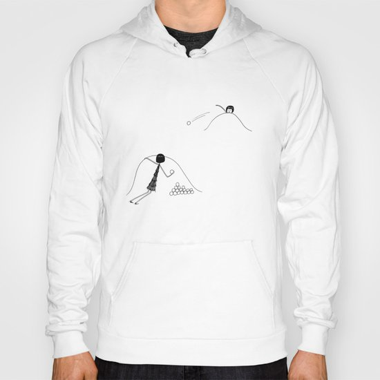 Snowball fight Hoody