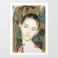 Rift Art Print