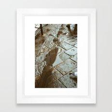 DUOMO VII - AFTER RAIN Framed Art Print