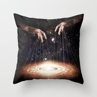 The Greatest Puppeteer Throw Pillow