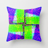 Razor Throw Pillow