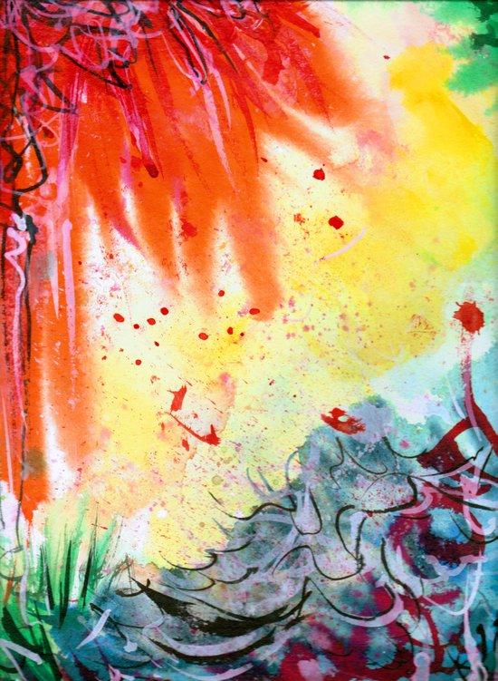 Hypergraff Canvas Print