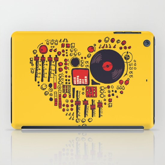 Music in every heartbeat iPad Case