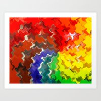 Taste the Rainbow Art Print