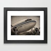 Douglas DC-3 Dakota Framed Art Print