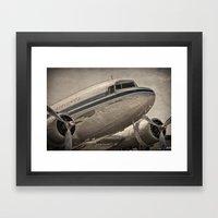 Douglas DC-3 Dakota Framed Art Print