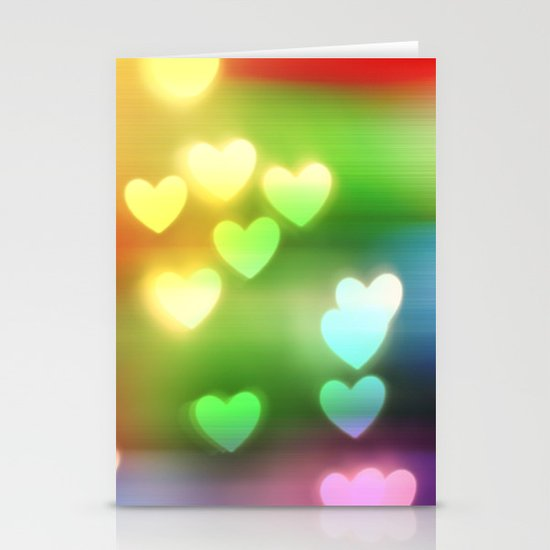 Love in Motion Stationery Card