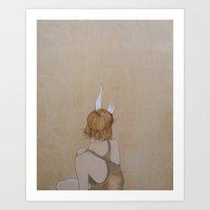 Perk Your Ears Up Art Print
