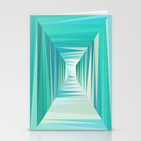 Ocean Tunnel Stationery Cards
