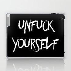 Unfuck yourself inverse edition Laptop & iPad Skin