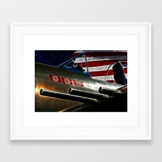 American Victory Framed Art Print