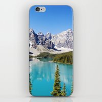Moraine Lake in Alberta, Canada iPhone & iPod Skin