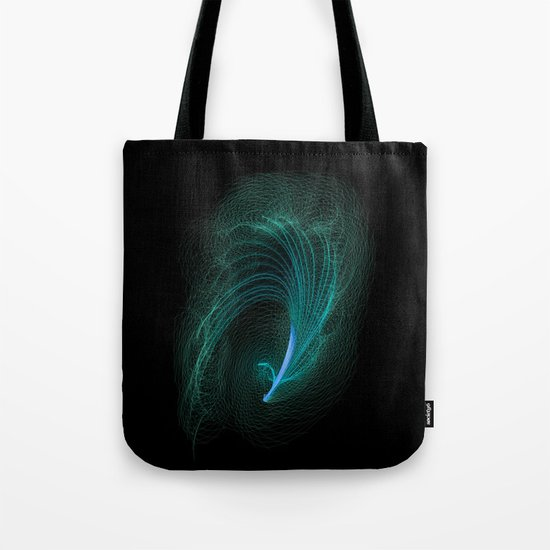 Designer feather Tote Bag