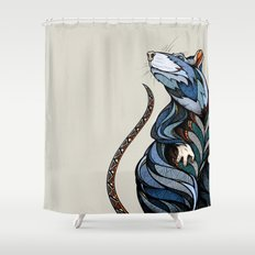 Berlin Rat Shower Curtain