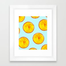 Rotating Insight #society6 Framed Art Print