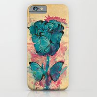 Butterfly Rose iPhone 6 Slim Case