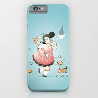 iPhone & iPod Case featuring Pin-up Girl by Timvandenbroeck