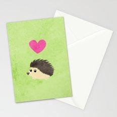 Hedgehog Love Stationery Cards