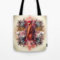 Kaleidoscope India Tote Bag