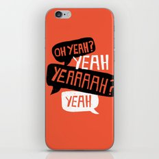 The Courage Of Your Convictions iPhone & iPod Skin