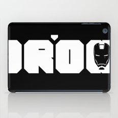 IRON MONOCHROME iPad Case