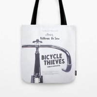 Bicycle Thieves - Movie Poster for De Sica's masterpiece. Neorealism film, fine art print. Tote Bag