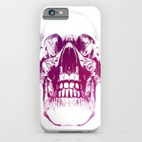 iPhone & iPod Case featuring purple crystal skull by 2b2dornot2b