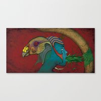 Siamese God Canvas Print