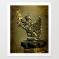The Griffin Art Print