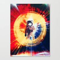 With Love From Space Canvas Print