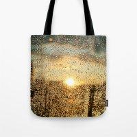 Sunset Dews Tote Bag