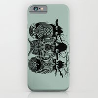 city iPhone & iPod Cases featuring Owls of the Nile by Rachel Caldwell