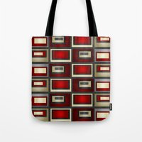 Dark Romance Geometric Tote Bag