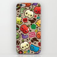Apple Pattern iPhone & iPod Skin