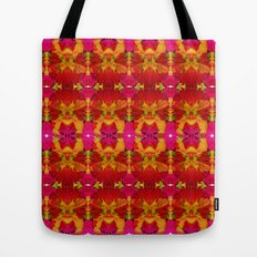 Like flowers and butterflies Tote Bag