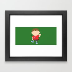 Villager♂(Smash)  Framed Art Print