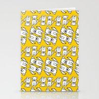 Dogs Pattern Stationery Cards