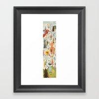No Slopes Like Snow Slopes Framed Art Print